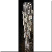 Đèn Thả Led Thông Tầng VE1 T-8856/85+11 Ø650xH2700