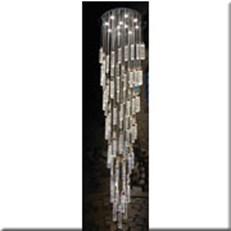 Đèn Thả Led Thông Tầng VE T-8856/85+11 Ø650xH2700