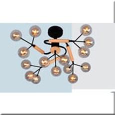 Đèn Chùm Nghệ Thuật VE1 T-2110/15 Ø750xH370