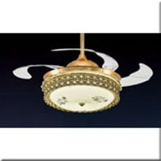 Đèn Quạt Cánh Xếp VE1 QT-87082 Ø500xH750