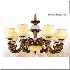 Đèn Chùm Đồng WQ1 CĐ 8604/8 Ø920xH600