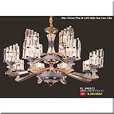 Đèn Chùm Pha Lê WQ1 PL 8665/12 Ø800xH650