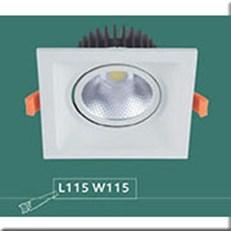 Đèn LED Âm Trần WQ1 L 7360 Ø130xH130