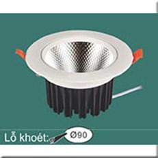 Đèn LED Âm Trần WQ1 L 9035 Ø108xH65