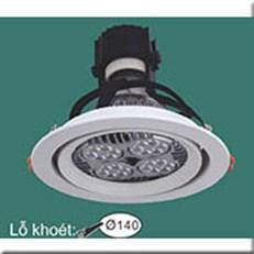 Đèn LED Âm Trần WQ1 PR 7363 Ø160