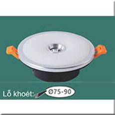 Đèn LED Âm Trần WQ1 L 8395 Ø110, khoét lỗ Ø75-90