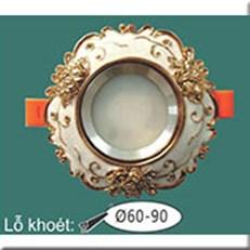 Đèn LED Âm Trần WQ1 L 9099 Ø115, khoét lỗ Ø60-90