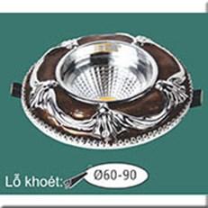 Đèn LED Âm Trần WQ1 L 7369 Ø115, khoét lỗ Ø60-90