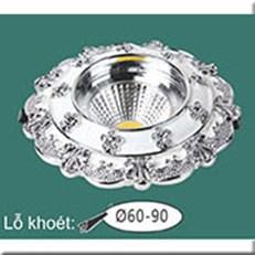 Đèn LED Âm Trần WQ1 L 7366 Ø115, khoét lỗ Ø60-90