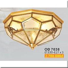 Đèn Trần Đồng SN1 OĐ 7038 Ø330