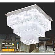 Đèn Mâm Pha Lê SN3 ML 1136 500x500