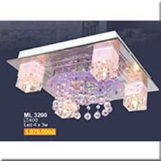 Đèn Mâm Pha Lê SN1 ML 3200 400x400
