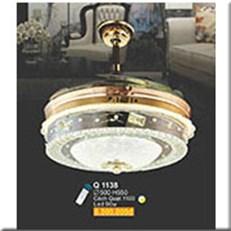 Đèn Quạt Cánh Xếp SN1 Q 1138 Ø500xH550