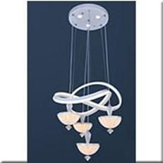 Đèn Thả LED VE T-509/4+1 Ø300xH1500