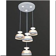 Đèn Thả LED VE T-8908/3+1 Ø300xH1000