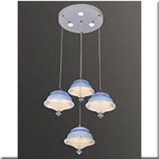 Đèn Thả LED VE T-3693/3+1 Ø300xH1000