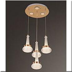 Đèn Thả LED VE T-9840/4 Ø350xH1000