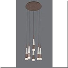 Đèn Thả LED VE T-7110/5+1 Ø350xH1500