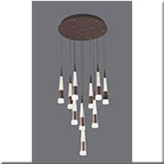 Đèn Thả LED VE T-7110/10 Ø450xH1500
