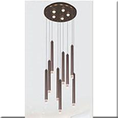 Đèn Thả LED VE T-9323/8+1 Ø380xH1500