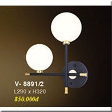 Đèn Tường Trang Trí VE V-8891/2 L290xH320