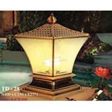 Đèn Trụ Cổng PT4 TD28 N400xC550