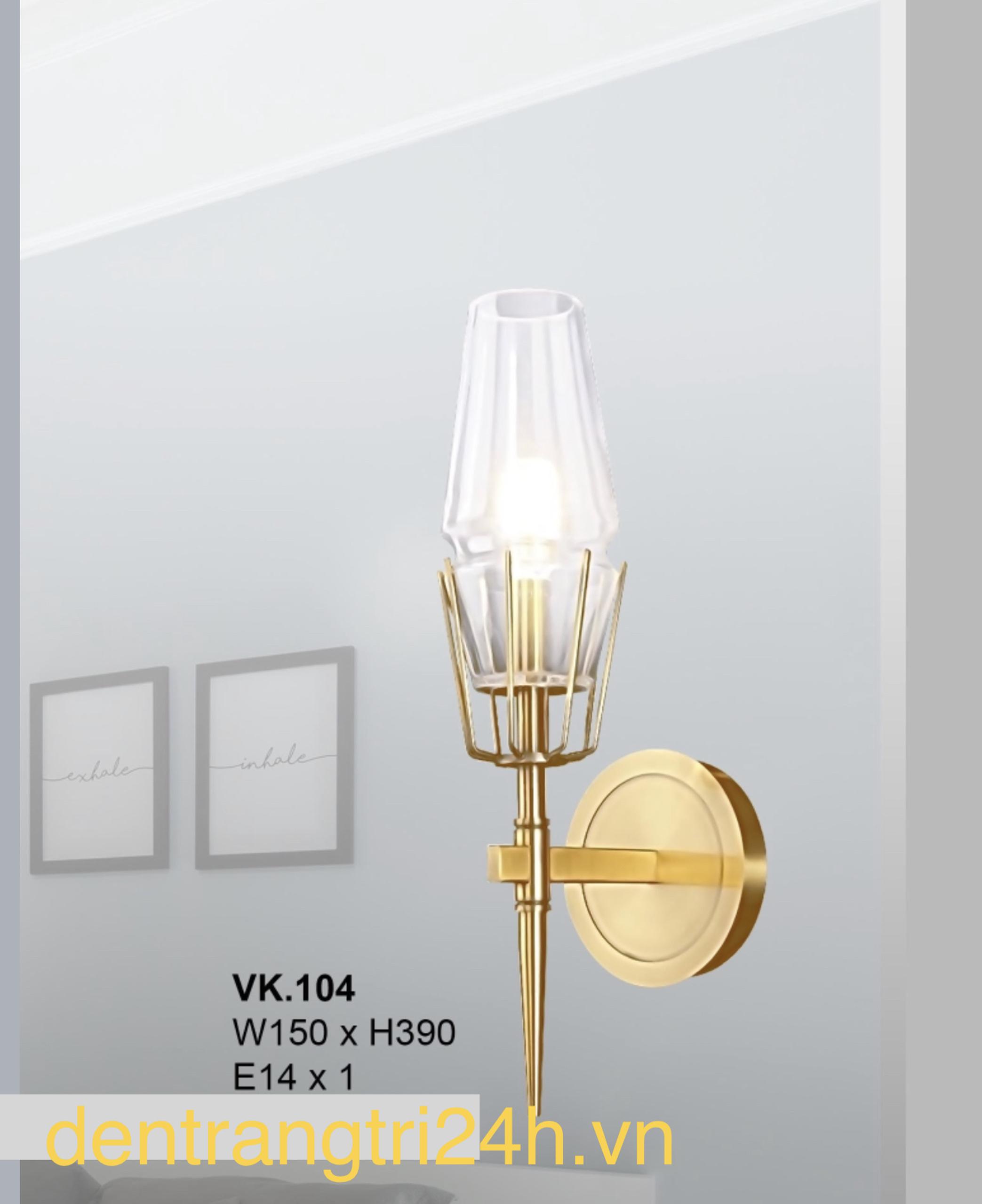 Đèn Gắn Tường nghệ thuật W150xC390