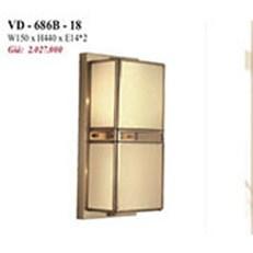 Đèn Vách Đồng PT3 VD-686B-18 W150xH440