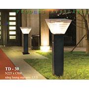 Đèn trụ sân vườn năng lượng mặt trời N225xC800