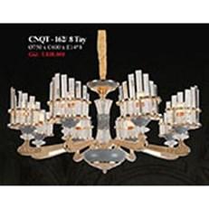 Đèn Chùm Pha Lê PT4 CNQT-162/8 TAY Ø750xC600