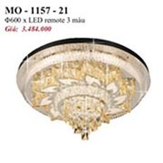 Đèn Mâm Pha Lê PT2 MO-1157-21 Ø600
