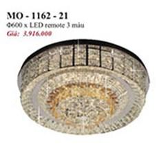 Đèn Mâm Pha Lê PT2 MO-1162-21 Ø600