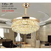 Đèn Quạt Cánh Xếp PT5 ViFa-19 Ø1050xC450