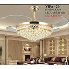 Đèn Quạt Cánh Xếp PT2 ViFa-20 Ø1050xC450
