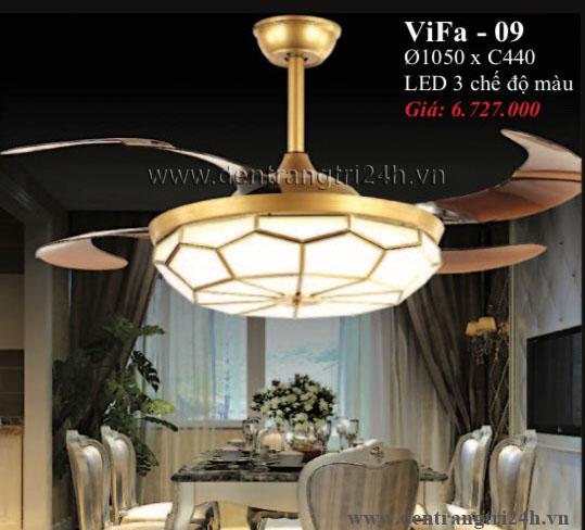 Đèn Quạt Cánh Xếp PT5 ViFa-09 Ø1050xC440