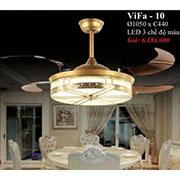 Đèn Quạt Cánh Xếp PT5 ViFa-10 Ø1050xC440