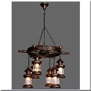 Đèn Thả Gỗ ER1 TG-D873/6 Ø550xH900