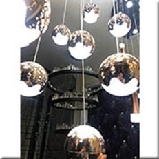 Đèn Thả Nghệ Thuật CTK5 THD09/1 Ø100