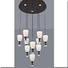 Đèn Thả Led KP5 1909-10 Ø500xH1000