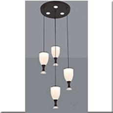 Đèn Thả Led KP5 1909-4 Ø300xH1000