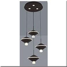 Đèn Thả Led KP5 18160-4 Ø350xH1000