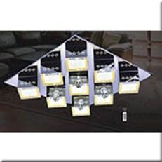 Đèn Mâm Pha Lê Led IW1 85321-9+4-LED 720x720