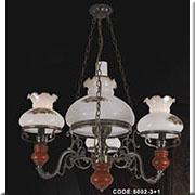 Đèn Chùm Gỗ KP4 5002-3+1 Ø600x800
