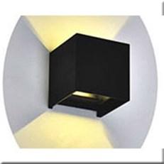 Đèn Ốp Tường Ngoại Thất KP4 KTS5050-2x3W 105x105