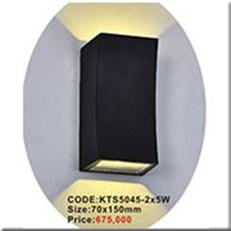 Đèn Ốp Tường Ngoại Thất KP1 KTS5045-2x5W 70x150