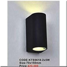 Đèn Ốp Tường Ngoại Thất KP1 KTS9618-2x5W 70x150