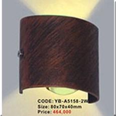 Đèn Ốp Tường Ngoại Thất KP1 YB-A5158-2W 80x70x40