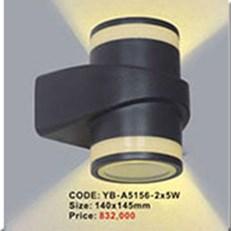 Đèn Ốp Tường Ngoại Thất KP1 YB-A5156-2x5W 140x145