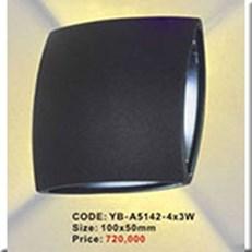 Đèn Ốp Tường Ngoại Thất KP1 YB-A5142-4x3W 100x50