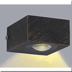 Đèn Ốp Tường Ngoại Thất KP1 YB-A5099-2x2W 70x40x80